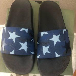 Valentino blue star ⭐️ slides